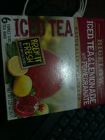 Bigelow® Iced Green Tea with Pomegranate Herbal Tea Bags 8 ct Box uploaded by katiusca s.