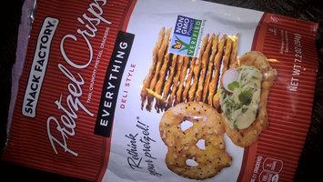Snack Factory Deli Style Pretzel Crisps Everything Flavor uploaded by Kristina G.
