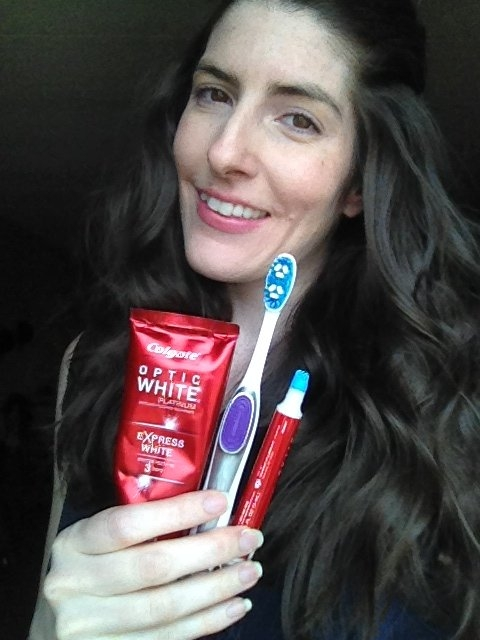 Colgate Optic White Express White Toothpaste uploaded by Carra D.
