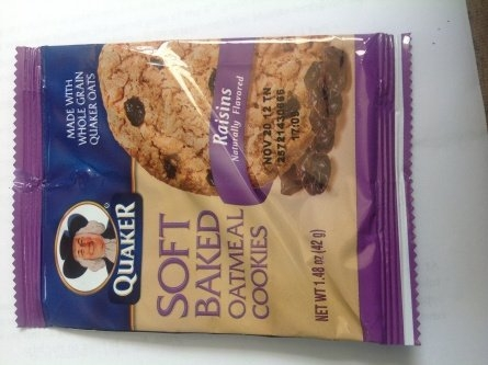Quaker Soft Baked Oatmeal Cookie uploaded by Shakia N.