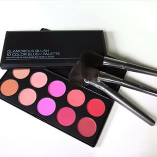 Photo of BH Cosmetics 10 Color Professional Blush Palette uploaded by Kiran K.