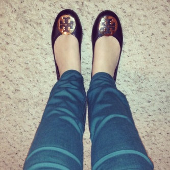 Photo of Tory Burch Flat Shoes uploaded by Christina B.