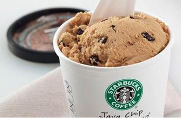 Starbucks Ice Cream  uploaded by Lisa Q.