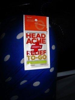 UrgentRx® Headache Relief to Go Powders image uploaded by Esmina H.