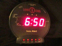 Sonic Boom Sonic Alert Boom Alarm Clock BB500SS uploaded by Brenda F.