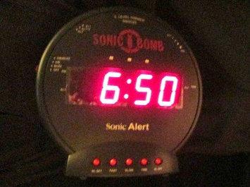 Photo of Sonic Boom Sonic Alert Boom Alarm Clock BB500SS uploaded by Brenda F.