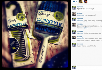 Photo of Goody® QuikStyle Paddle Brush uploaded by Patricia B.