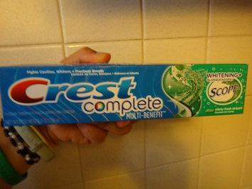 Photo of Crest Tartar Protection Toothpaste uploaded by Lidia Z.