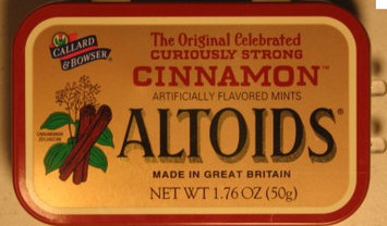 Photo of Altoids Curiously Strong Cinnamon Mints uploaded by Theresa L.