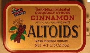 Altoids Cinnamon Mints uploaded by Theresa L.