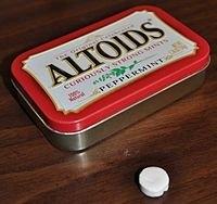 Altoids Cinnamon Mints uploaded by Allie T.