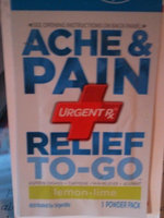 UrgentRx® Ache & Pain Relief to Go Powders uploaded by Kelsey O.