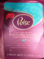 Poise Body Cooling Towelettes uploaded by Gladys R.