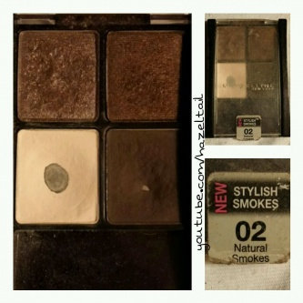 Maybelline Stylish Smokes Eyeshadow Quad uploaded by Ashley S.