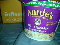 Annie's Homegrown White Cheddar Microwavable Mac & Cheese uploaded by Christine C.