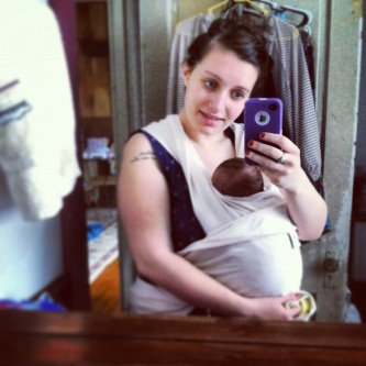 Photo of Moby Wrap Organic Baby Carrier uploaded by Sammi B.