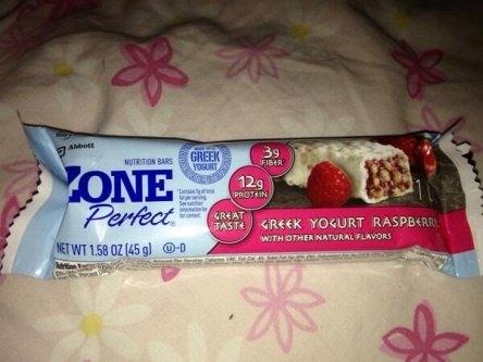 ZonePerfect® Greek Yogurt Bars uploaded by Alexandra R.