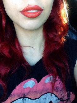 Kat Von D Painted Love Lipstick Homegirl uploaded by Ashley S.