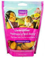 Halo, Purely For Pets Liv-a-Littles Healthsome Dog Biscuits uploaded by Ashley W.