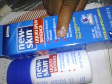 New-Skin Antiseptic Liquid Bandage Spray uploaded by Brittney D.