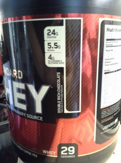 Photo of Optimum Nutrition Gold Standard Natural 100% Whey Protein uploaded by Heather C.
