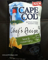 Cape Cod Chef's Recipe Kettle Cooked Feta & Rosemary Potato Chips uploaded by J Davis M.