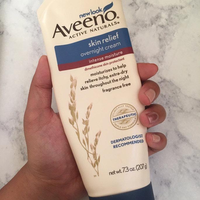Aveeno® Active Naturals Skin Relief Overnight Cream