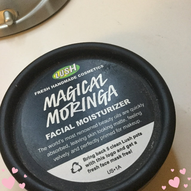 LUSH Magical Moringa