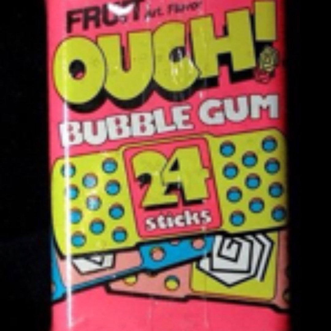 Hubba Bubba Ouch, Bubble Gum, 15 count, (Pack of 10)
