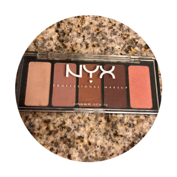 NYX 5 Color Shadow #06 I Dream of Nevis