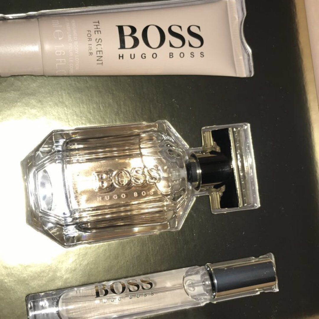 Hugo Boss Boss The Scent Perfume 1.6 Oz Edp Tester For Women - TBOSTS17SW