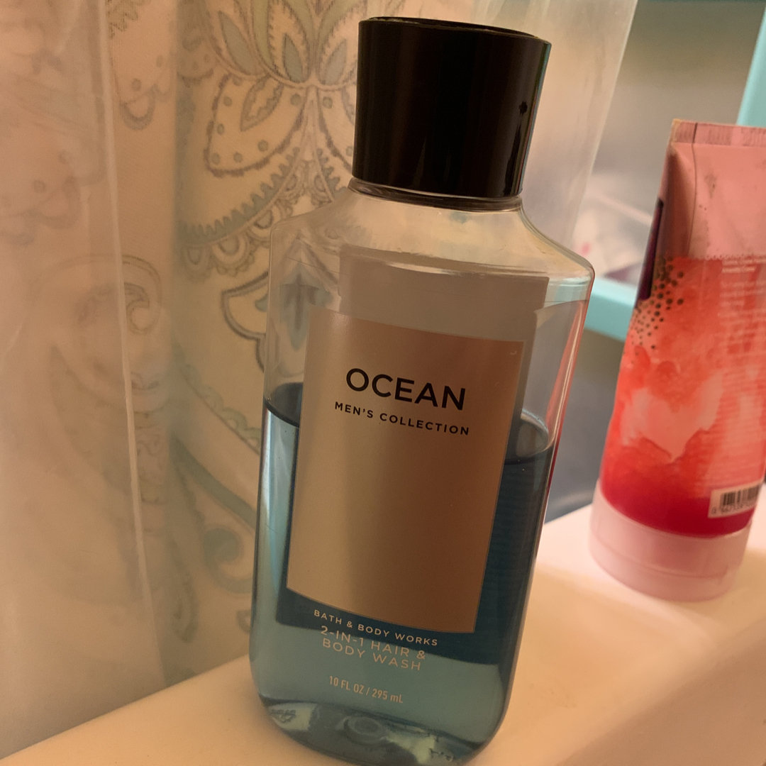 Bath & Body Works Men's Collection Ocean 2-in-1 Hair & Body Wash 10 Oz.