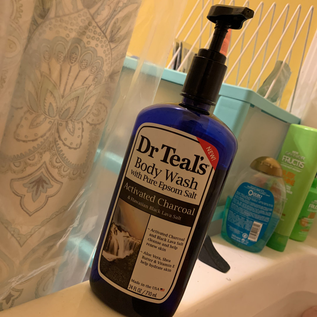 Dr Teal's Charcoal Body Wash, 24 fl oz