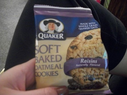 Quaker Soft Baked Oatmeal Cookie uploaded by Nina T.