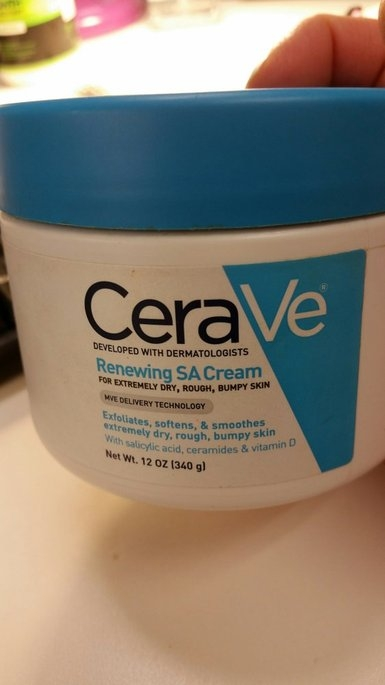 CeraVe SA Renewing Cream uploaded by Michele C.