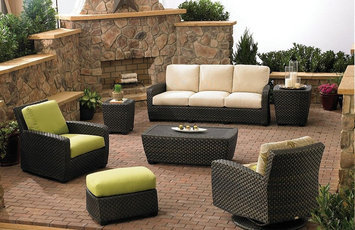 Photo of Safavieh Watson 4 Piece Seating Group with Cushions uploaded by Olivia D.