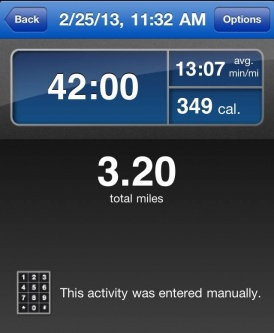 Photo of RunKeeper App uploaded by Meg H.