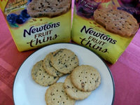 Newtons  Fruit Thins Blueberry Brown Sugar  uploaded by Leslie K.
