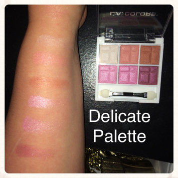 L.A. Colors 6 Color Eyeshadow, Delicate, .14 oz uploaded by Gabrielle G.