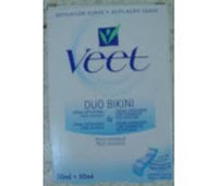 Veet Caring Touch Bikin & Underarm Hair Removal Cream Kit uploaded by Johana G.