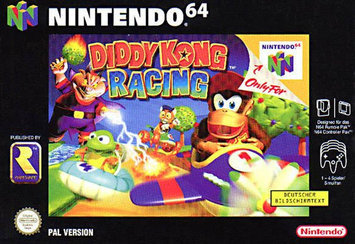 Photo of Nintendo Diddy Kong Racing uploaded by Julie P.