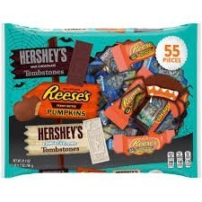 Hershey's Halloween Assorted Candy, 55 count uploaded by CONSTANCE C.