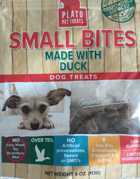 Plato - Small Bites Slow Roasted Duck Treats - 10oz uploaded by Rita W.