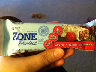ZonePerfect® Greek Yogurt Bars uploaded by Erika W.