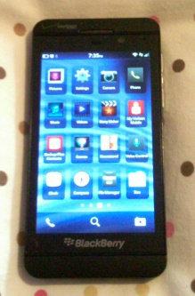 Photo of Blackberry Smart Phone uploaded by Juliette N.