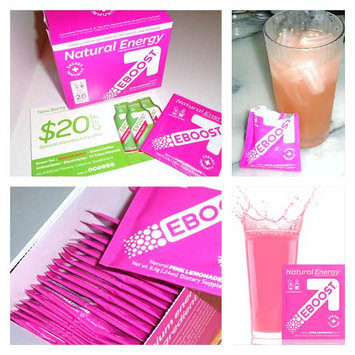 Photo of Eboost Natural Powder Pink Lemonade Case of 20 .24 oz uploaded by Maria R.