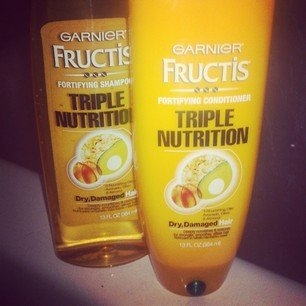 Garnier Fructis Triple Nutrition Shampoo + Conditioner uploaded by Abby N.