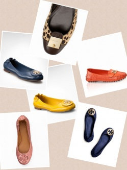 Photo of Tory Burch Flat Shoes uploaded by Angelique D.