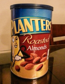 Photo of Planters  Nut-Rition Almonds Canister uploaded by Shawna T.