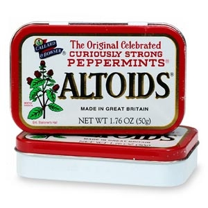 Photo of Altoids Curiously Strong Cinnamon Mints uploaded by Heather S.